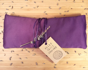 Lavender Eye Pillow -Aromatherapy -Relaxation-Yoga-Meditation