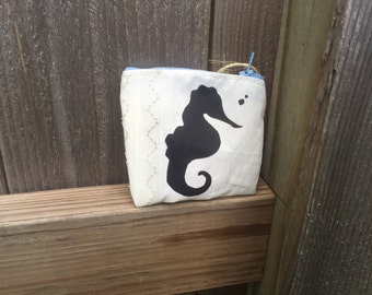 Recycled Racing Sailcloth Makeup/Shaving Bag