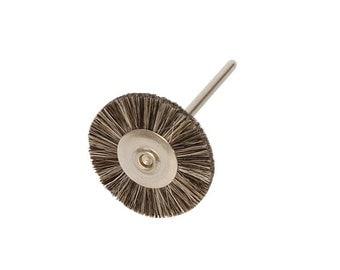 Miniature Brushes on Mandrels, Soft Bristles, 1 Inch, 12 Pack | BRS-415.00