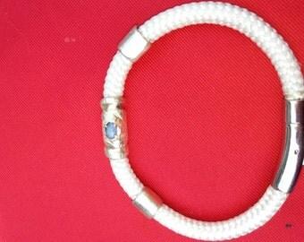 The Shosha Bracelet White with moonstone.