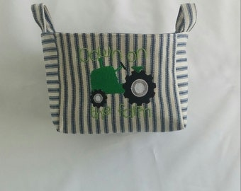 Tractor Fabric Etsy