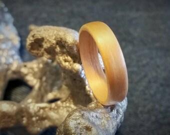Birch Bent Wood Ring.  SIZES: 5.5 6 6.5 7 7.5 8 8.5 9 9.5 10 11.5 12.5 13