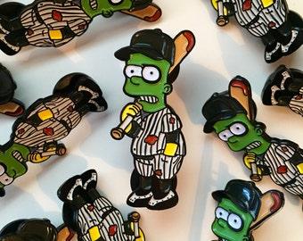 Bart x The Furies Pin Badge