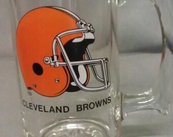 Clevand Browns Glass Mug
