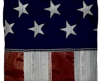 Duvet Cover,American Flag Duvet Cover,King,Queen,Full,Twin,Rustic,American Flag,Red,White,Blue,Stars,Stripes,Wood,Bedroom Home Decor,Bedding