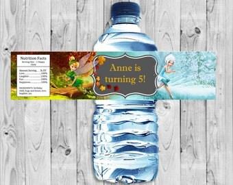 Tinkerbell Bottle Label