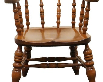 L U0026 JG STICKLEY Solid Cherry Captainu0027s Tavern Chair 7086