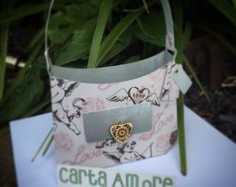 Handmade handbag gift bag