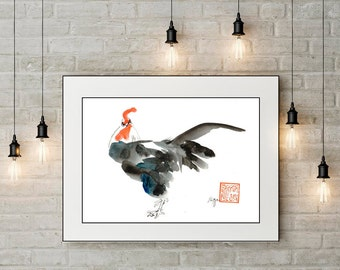 Year of the Rooster, Rooster, birthday gift,  Chinese New Year, 2017, feng shui, new year greeting,