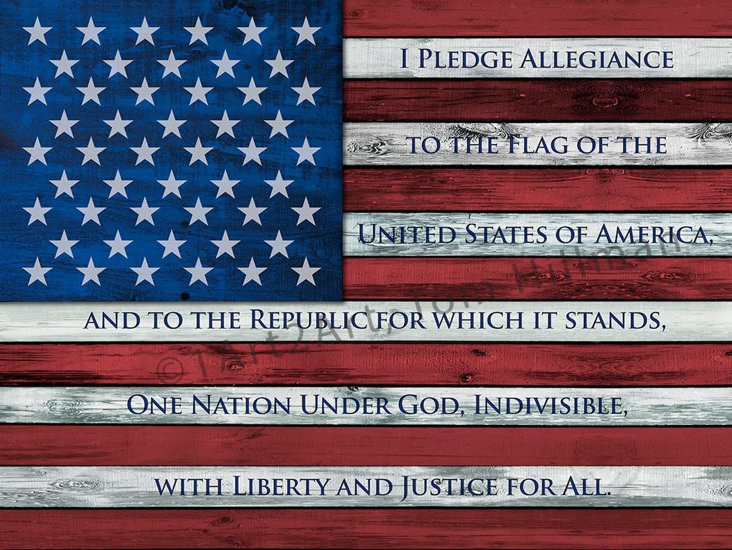 Pledge allegiance   Etsy