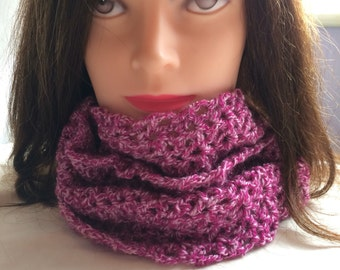 Mothers day gift - Ladies cowl scarf - woolly scarf - winter scarf