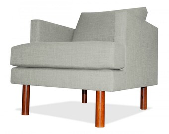 Clark Arm Chair in Ivory