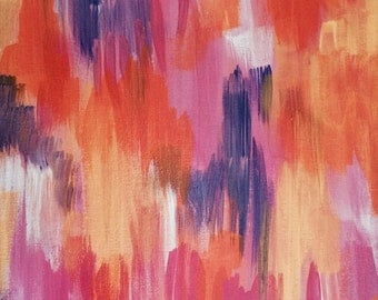 "Painting: ""Coalescing Colors"""