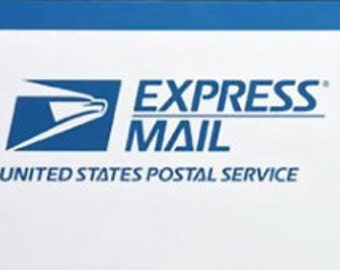 Upgrade shipping to Express Mail