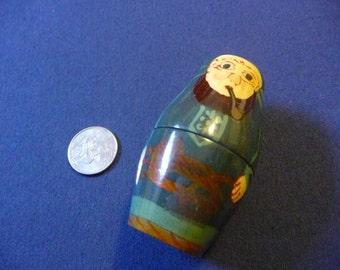 Pipe Smoking Nesting Doll