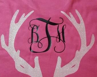 Antler monogram shirt