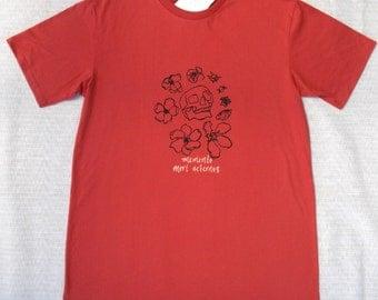 Skull T-shirt-100 percent organic cotton, made in Australia, sweatshop-free