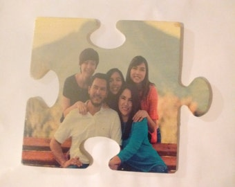 Beautiful Endless Wooden Puzzle Picture Pieces Made Custom Just For You