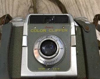 Ansco Navy Camera with snap case
