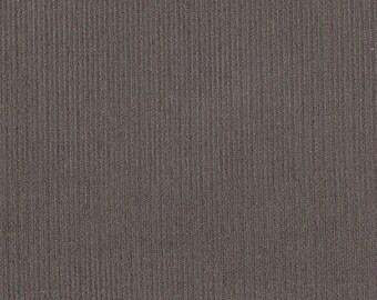 Anthracite grey corduroy