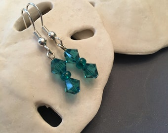 Crystal earrings ~ assorted colors