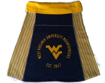 WVU Mountaineers Game Day skirt, small