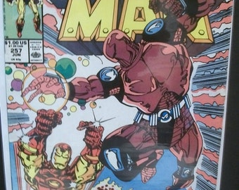 1990 Iron Man #257 Iron Man Vs Samurai Steel VG-VFine Unread Vintage Marvel Comic Book