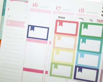 Appointment Box with Flag Planner Stickers (TP143)