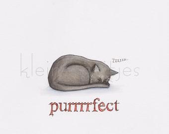 Purrrfect print