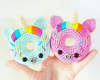 Baby bunny donuts cactus icecream d coration scandinave kawaii for Decoration licorne chambre
