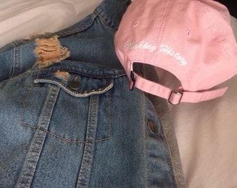 Making History Special Edition Pink Baseball Cap