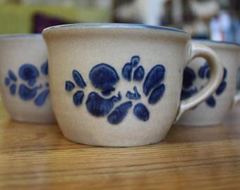 Set of 3 Pfaltzgraff Folk Art Mugs