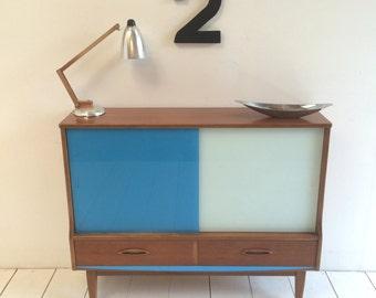 Vintage Teak Sideboard 1960s Danish Style Retro