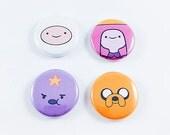 "Adventure Time 1"" Pin Set"