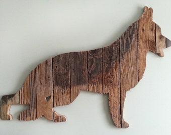 """German Shepherd (Lg 41""""w)(sold)"""
