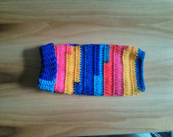 Crocheted Dog Sweater - small