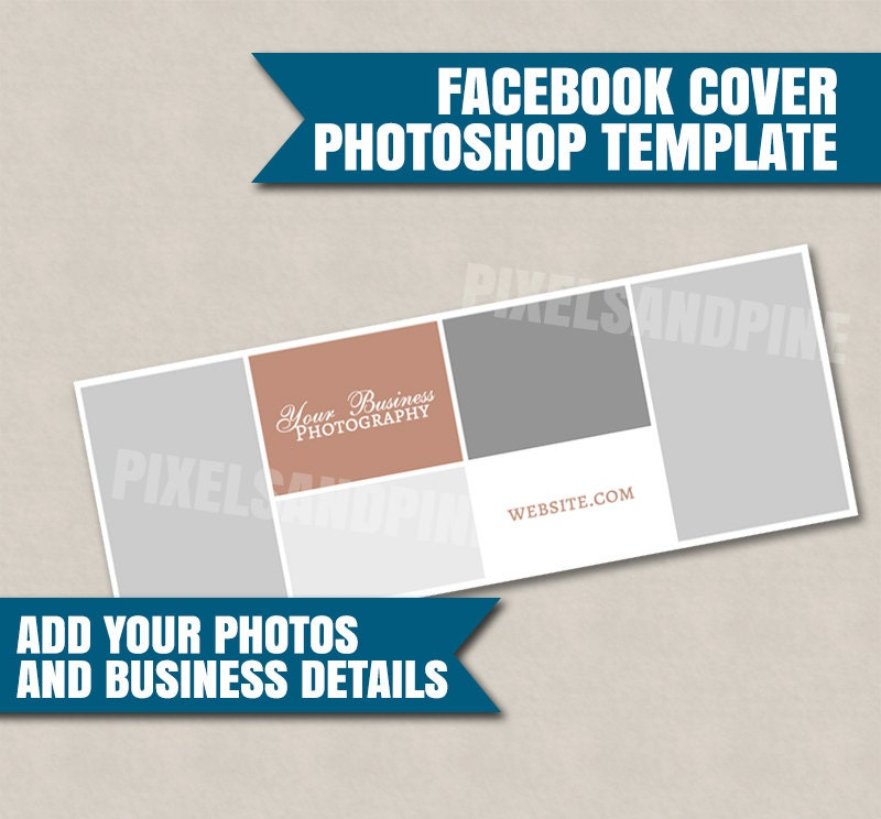 Photoshop facebook cover template brand your business facebook this is a digital file pronofoot35fo Gallery