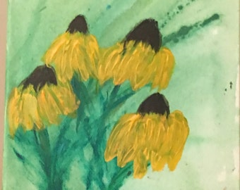 Grandma Best's Black-eyed Susans