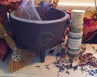 Cleansing Incense Hoodoo Blowing Powders clearing