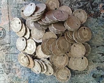 Old Burma Round Coins