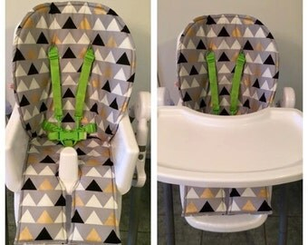 Triangle pattern Universal Highchair liner