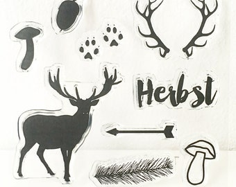 Clear stamps _ fall _