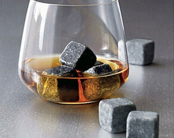 9 PCs Whisky Ice Stones Whiskey Scotch Rocks Bar Drinks Cooler, HSD-730