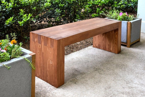 Items Similar To Rustic Sitting Bench For Entryway Or Outdoors Spa Seating Table Storage Wooden
