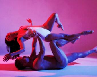 Pink and Blue series by Joe Lambie