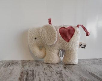 Game Watch elephant organic cotton
