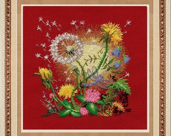 Counted Cross Stitch Kit Golden Hands - Breaking Dawn