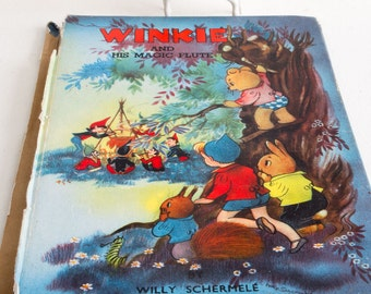 Vintage edition of 'Winkie and his magic flute'