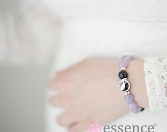 Balance Bracelet - Essence Bracelet, Gemstone, Jewelry, Silver, Health and Wellness, Healing Bead Bracelet