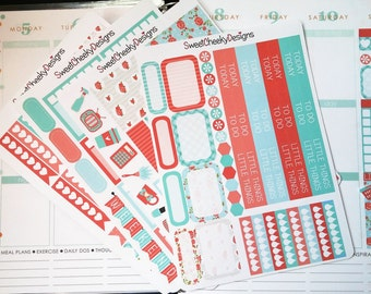 Shabby Chic Weekly Planner Kit!  Available for Erin Condren Life Planner or MAMBI/Happy Planner